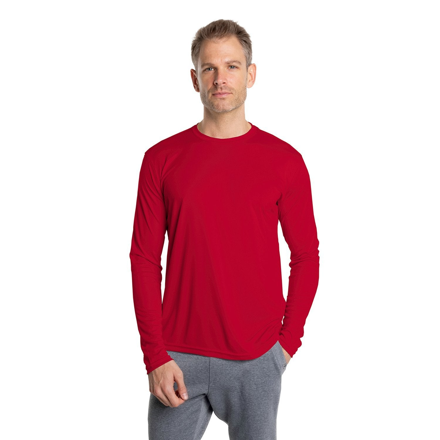 M700MR Solar Long sleeve - Mars Red