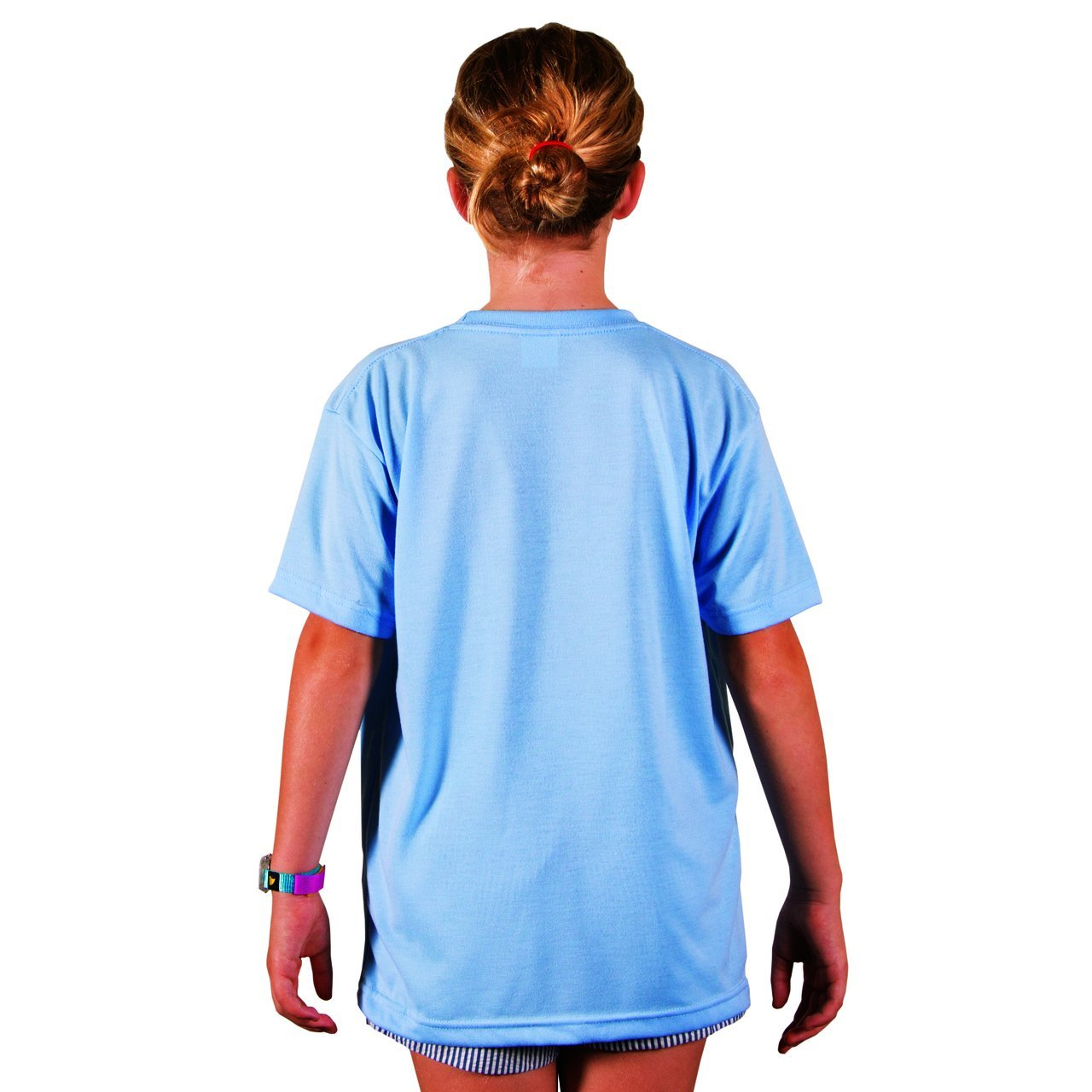 A3SJBBBZ Youth Basic Performance T-Shirt - Blizzard Blue