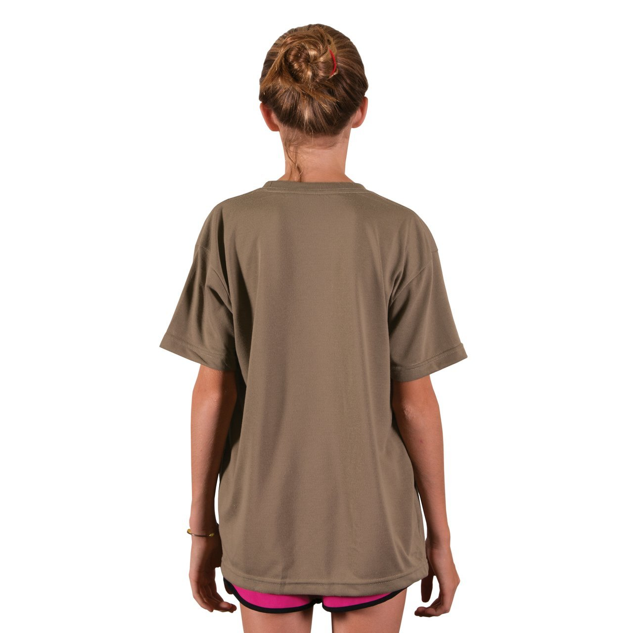 A3SJBBEA Youth Basic Performance T-Shirt - Earth