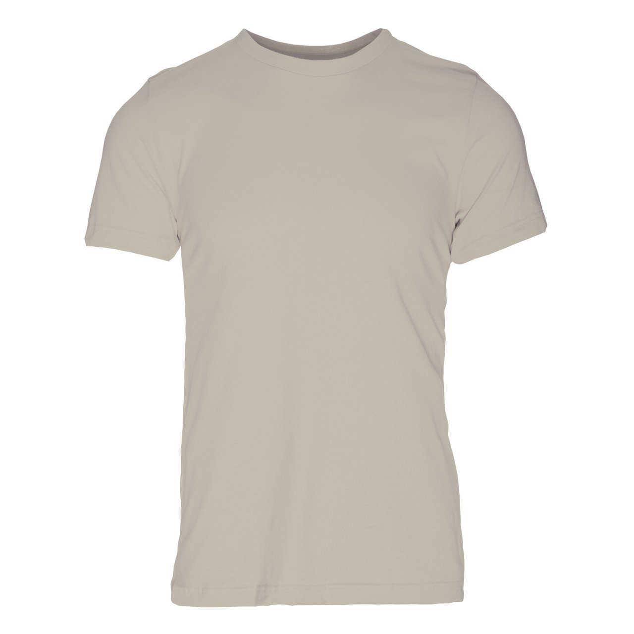 PC100SR Eco REPREVE® Recycled Polyester/Cotton Crew T-Shirt - Silver