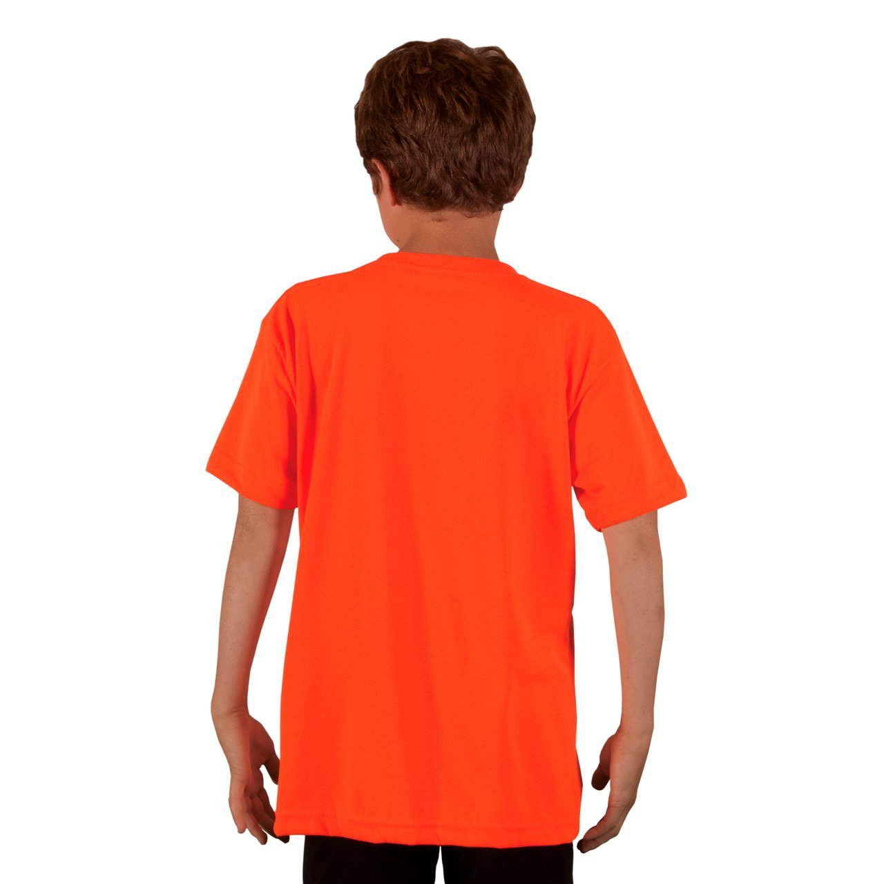 A3SJBBSO Youth Basic Performance T-Shirt - Safety Orange