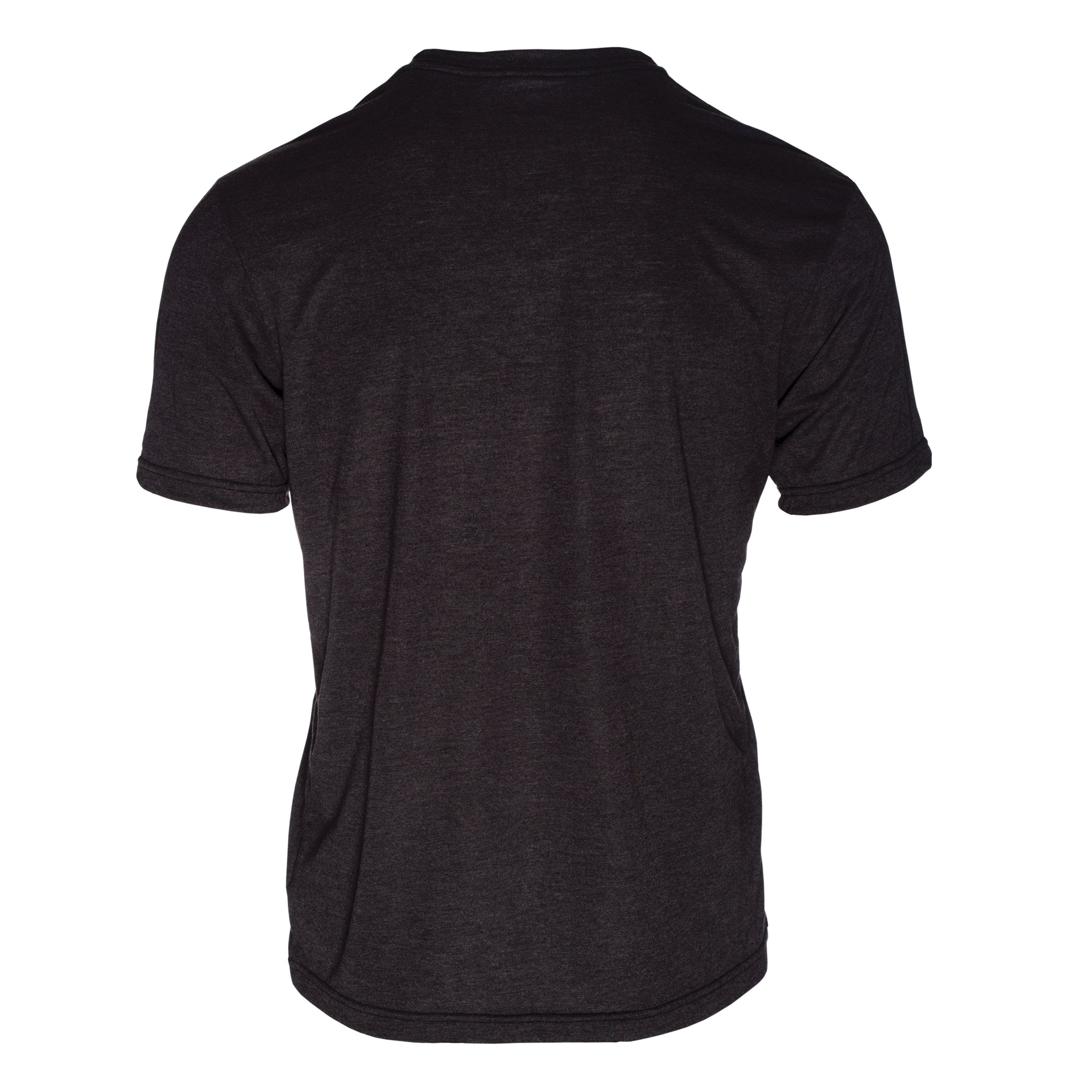 RM100CB Eco REPREVE® Recycled Triblend Crew T-Shirt - Charblack