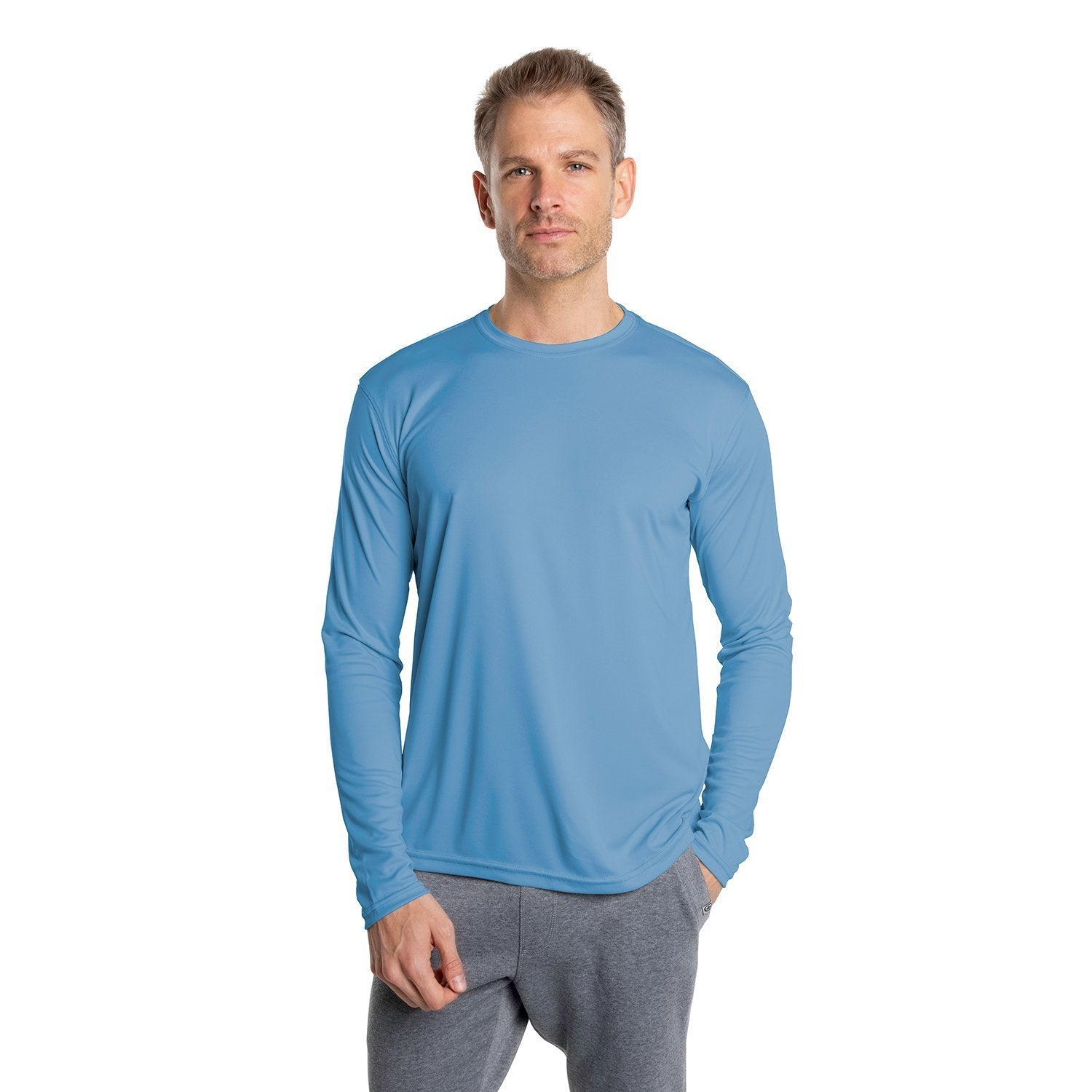 M700CB Solar Long Sleeve - Columbia Blue