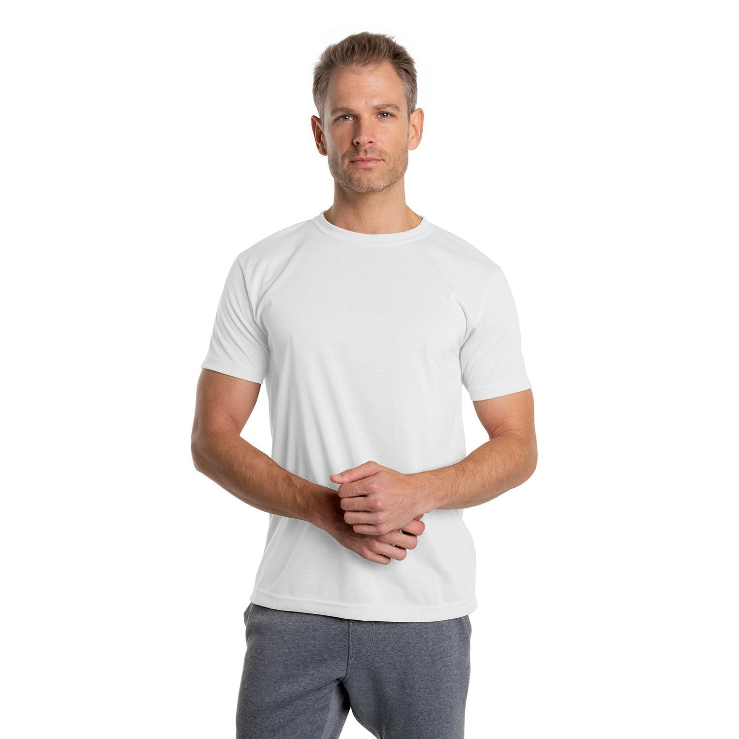 A1SJBBWH Basic Performance T-Shirt - White