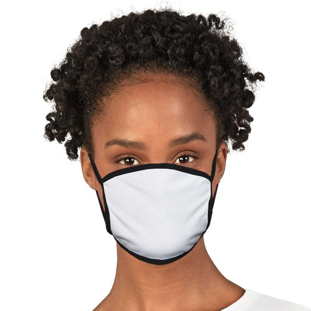 Clearance Face Mask - Black Trim