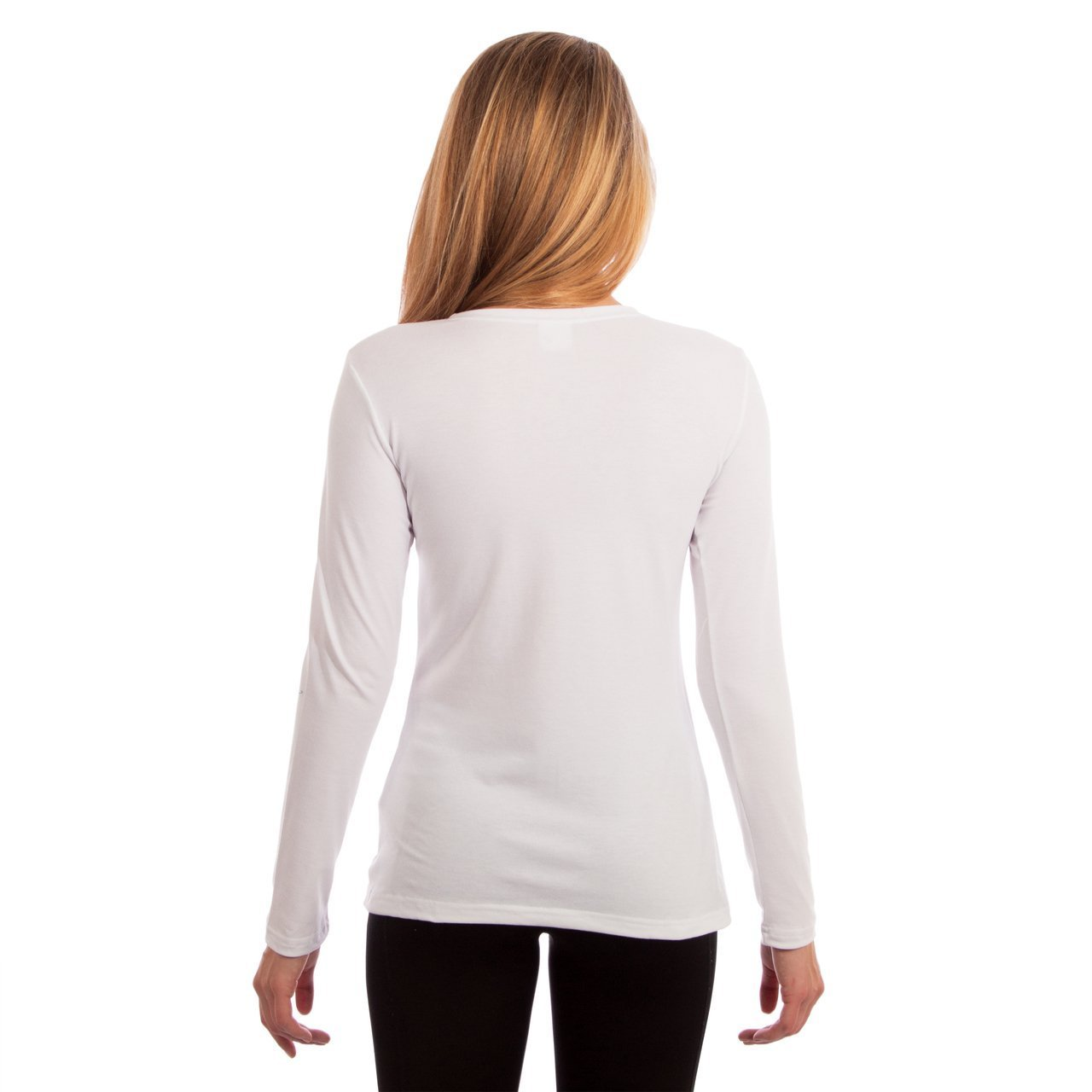 L700WH Slim Fit Long Sleeve - White