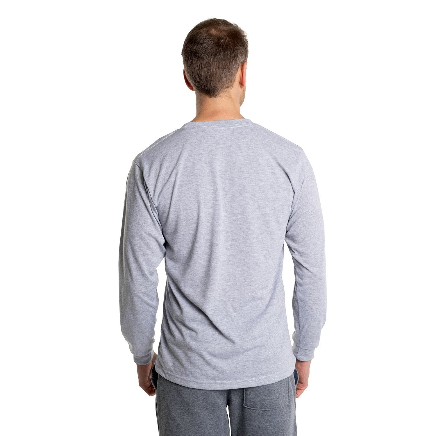 A1SJBLAH Basic Performance Long Sleeve T-Shirt - Ash Heather