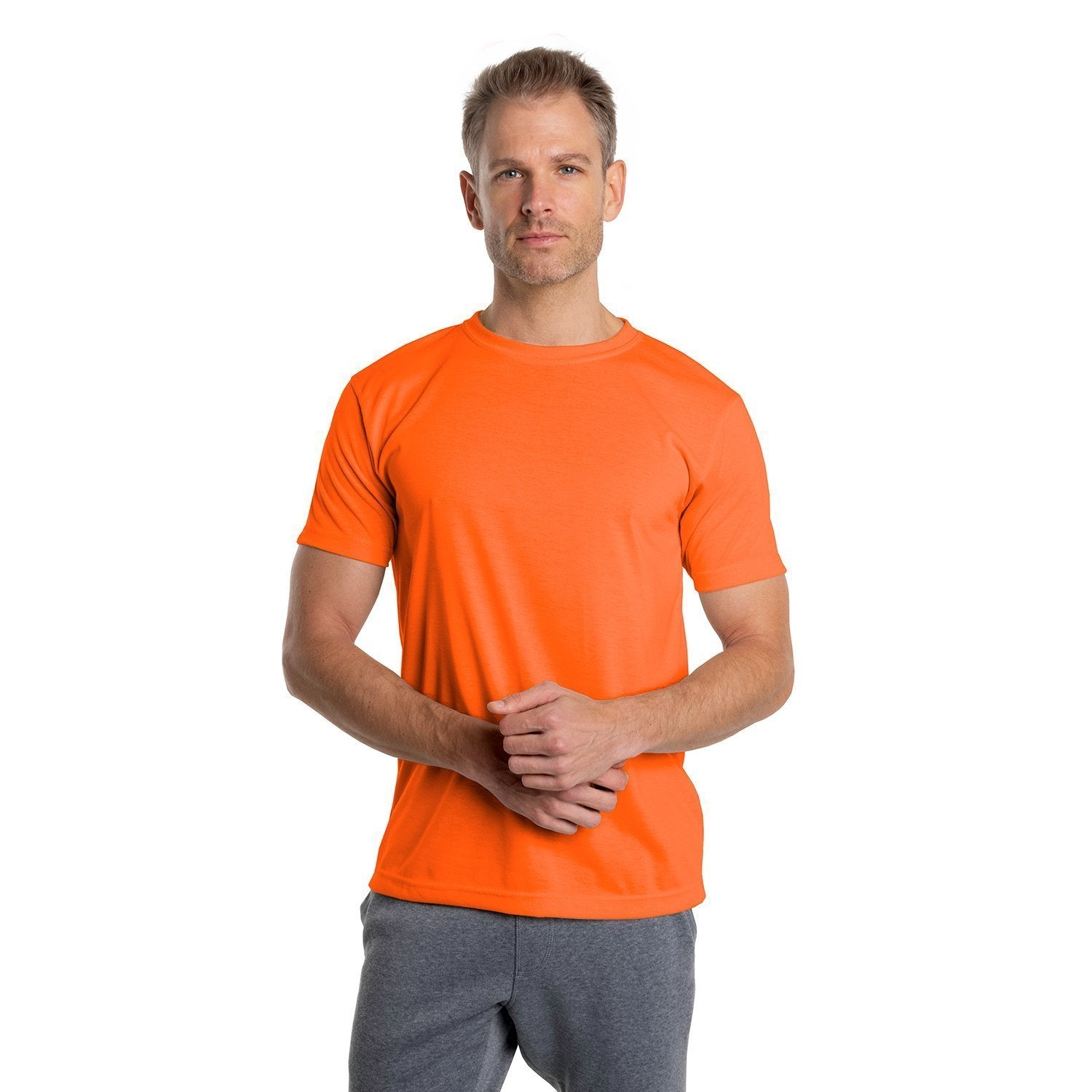 A1SJBBSO Basic Performance T-Shirt - Safety Orange