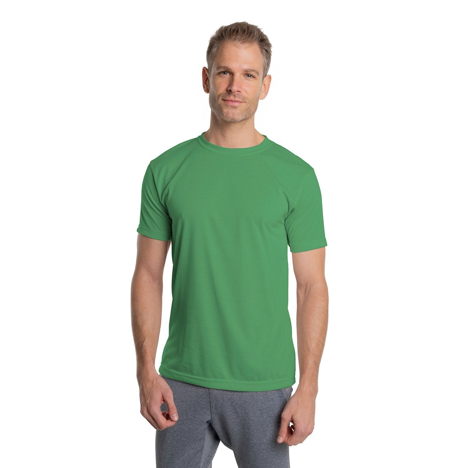 A1SJBBLF Basic Performance T-Shirt - Leaf