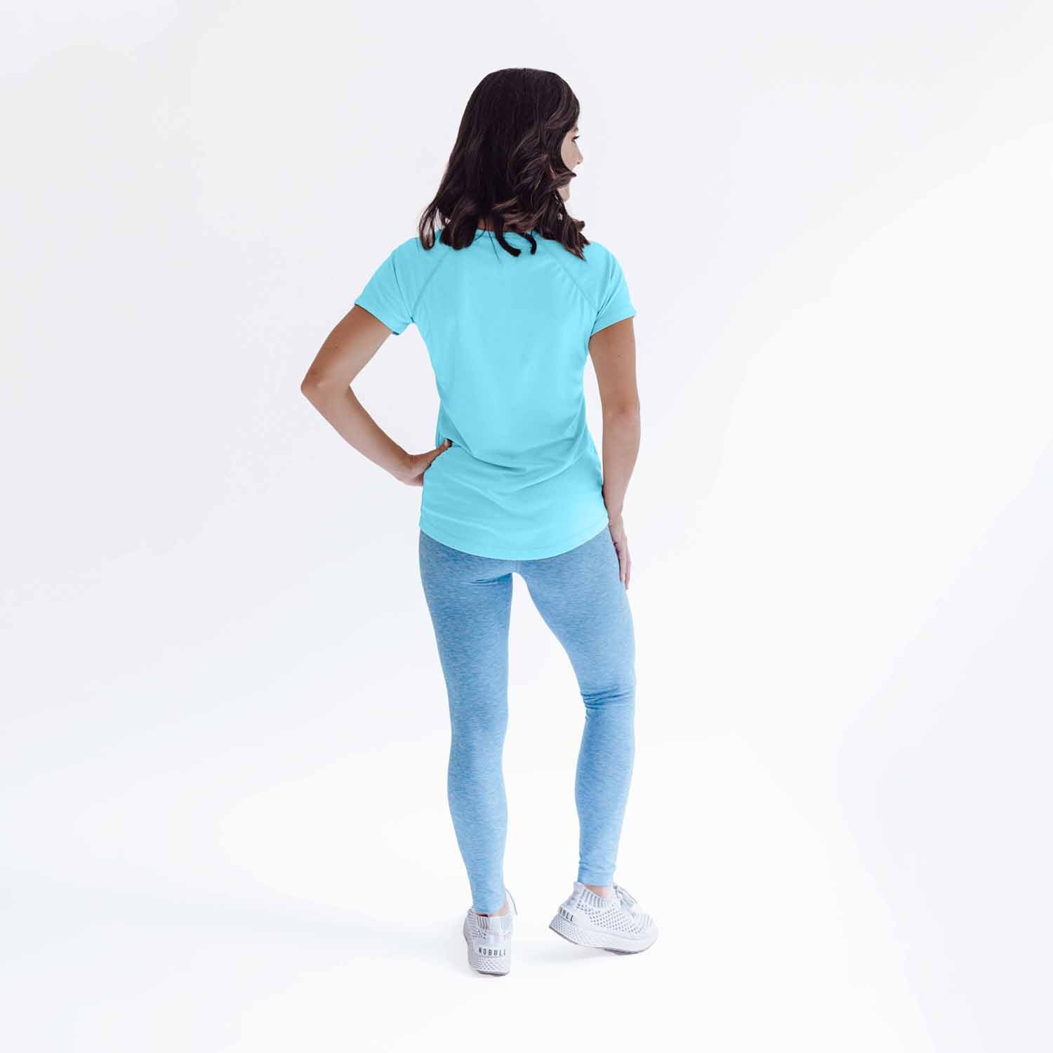 W350WB Ladies Classic Fit Solar Short Sleeve - Water Blue