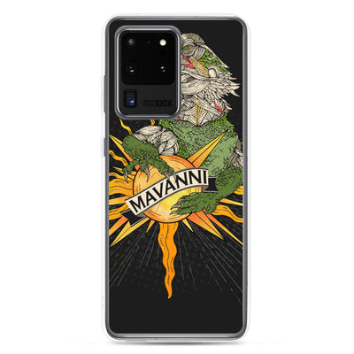 Mavanni Iguana on Samsung case