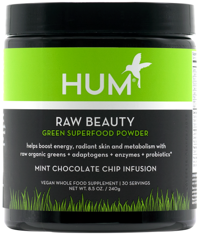 Raw Beauty Green Superfood Powder - Mint Chip