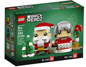 MR & MRS CLAUS SET #40274