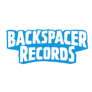 Backspacer Records Logo Blue