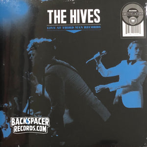 The Hives ‎– Live At Third Man Records LP (Sealed)