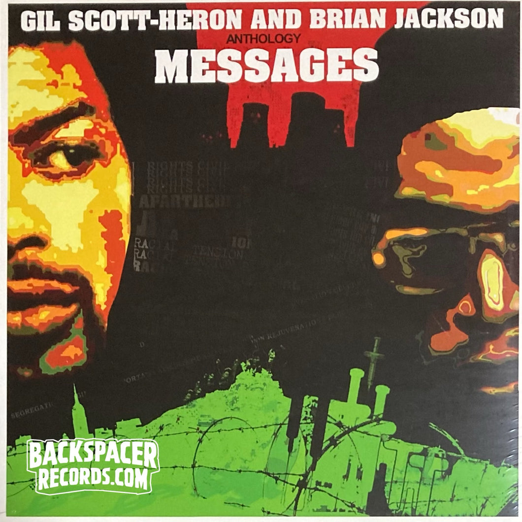 Gil Scott-Heron And Brian Jackson ‎– Anthology. Messages 2-LP (Sealed)