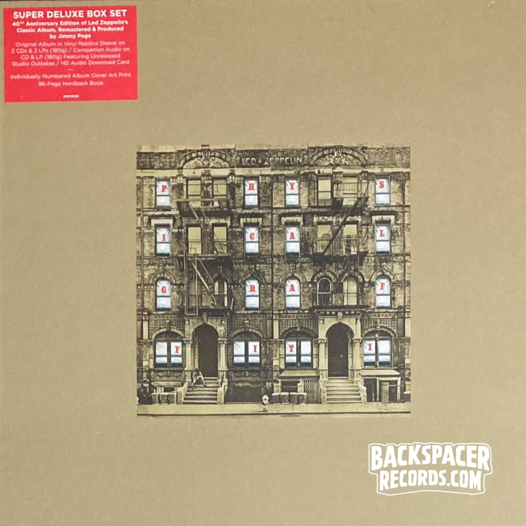 Led Zeppelin ‎– Physical GraffitiI (Super Deluxe Edition) Boxset (Sealed)