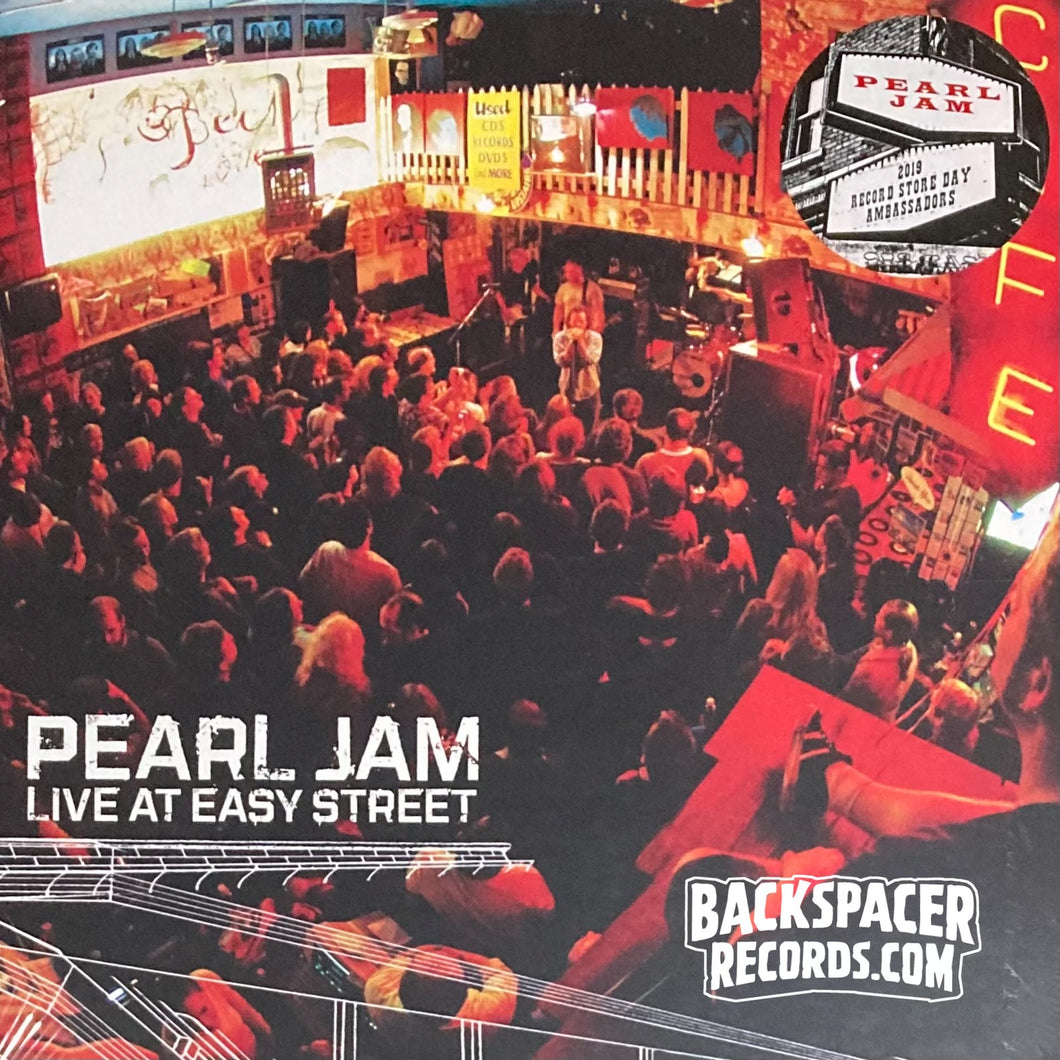 Pearl Jam - Live At Easy Street LP (Sealed)