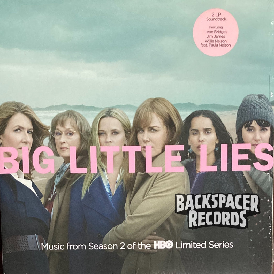 Big Little Lies: Music From Season 2 Of The HBO Limited Series - Various Artists 2-LP (Sealed)