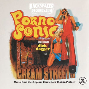 Pornosonic ‎– Cream Streets: Music from the Original Unreleased Motion Picture LP (Sealed)
