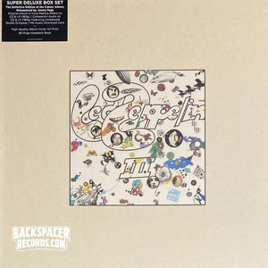 Led Zeppelin ‎– Led Zeppelin III (Super Deluxe Edition) Boxset (Sealed)