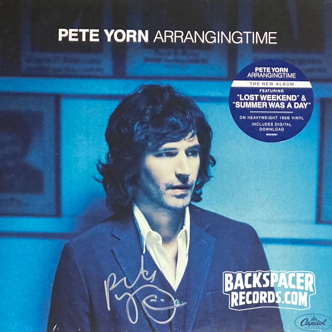 Pete Yorn ‎– ArrangingTime (Autographed) LP (Sealed)