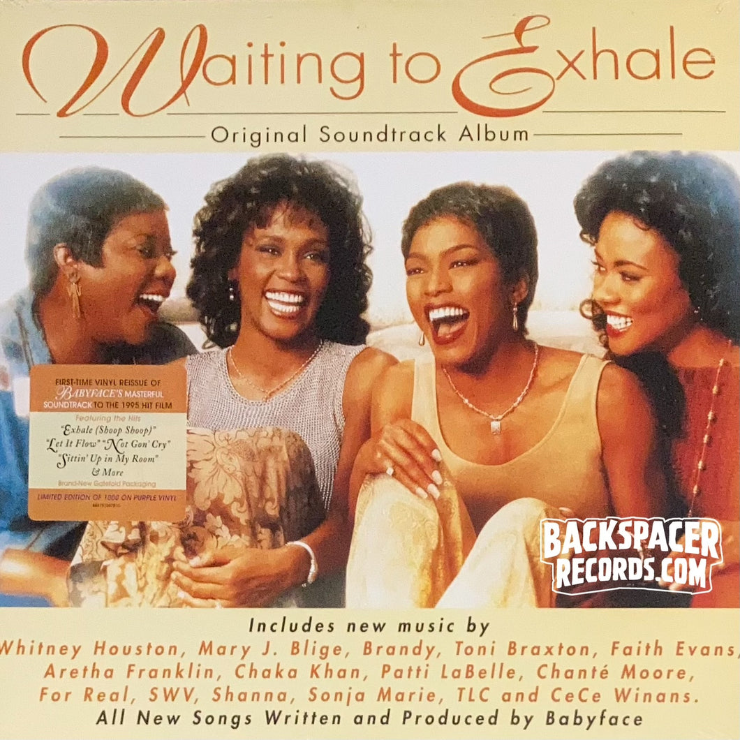 Waiting To Exhale: Original Soundtrack Album - Various Artists (Limited Edition) 2-LP (Sealed)