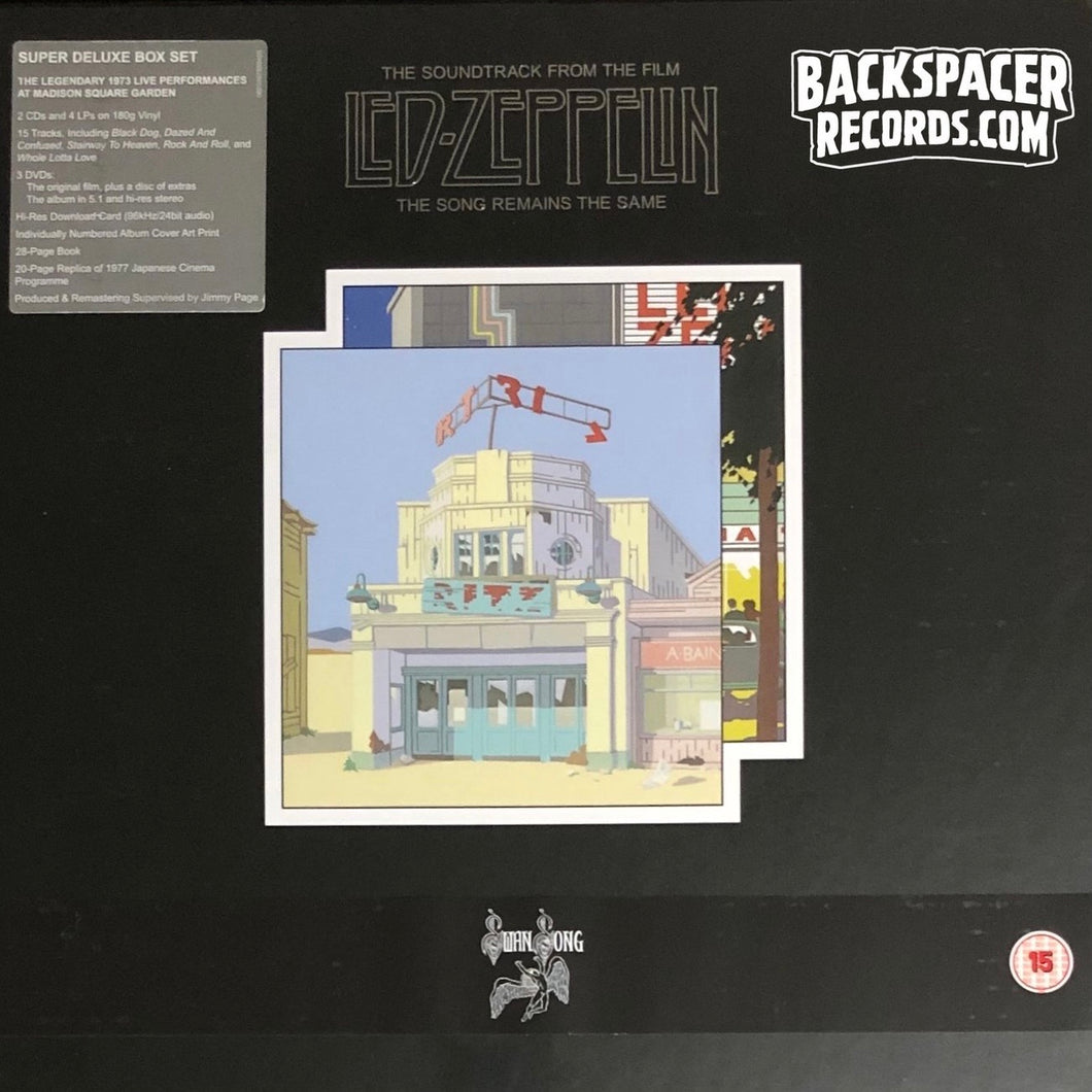 Led Zeppelin ‎– The Soundtrack From The Film The Song Remains The Same (Super Deluxe Edition) Boxset (Sealed)