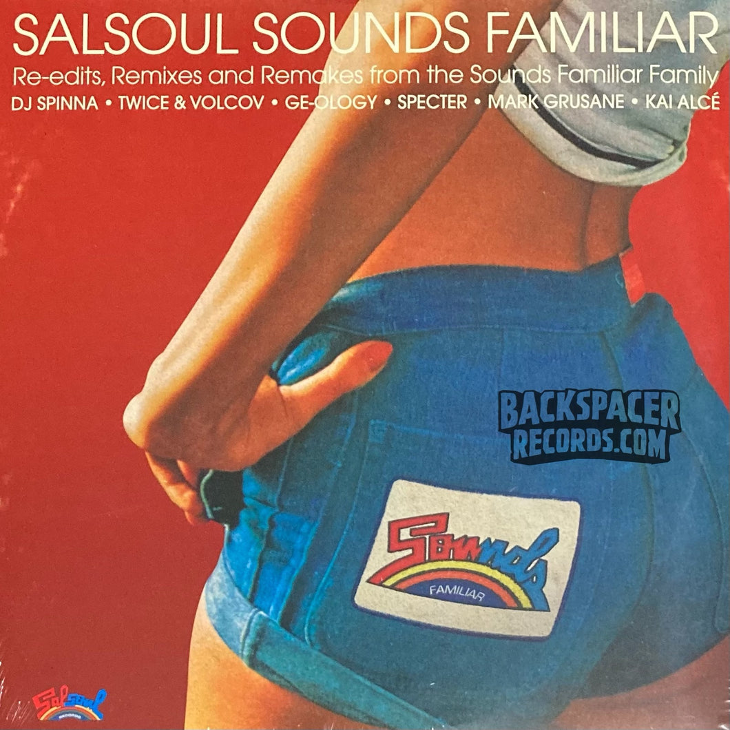 Salsoul Sounds Familiar (Re-Edits, Remixes And Remakes From The Sounds Familiar Crew) - Various Artists 2-LP (Sealed)