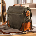 Load image into Gallery viewer, Canvas Handbag - Iguana