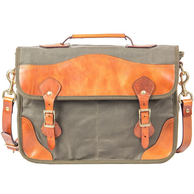 Canvas Handbag - Iguana