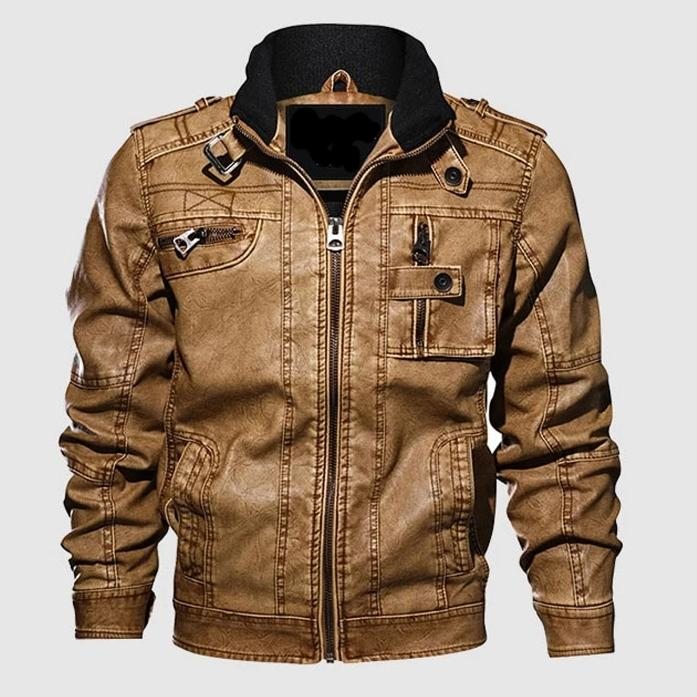 Iguana Classic Leather Jacket - Iguana