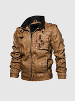 Load image into Gallery viewer, Iguana Classic Leather Jacket - Iguana