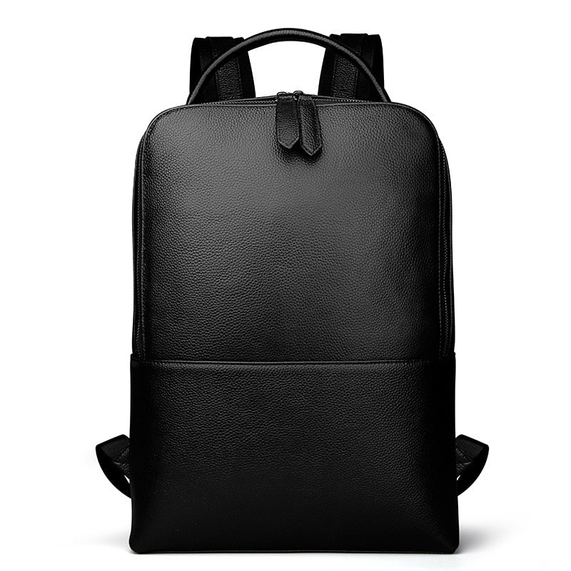 Moss Leather Backpack - Iguana