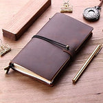Load image into Gallery viewer, Handmade Refillable Leather Notebook - Iguana