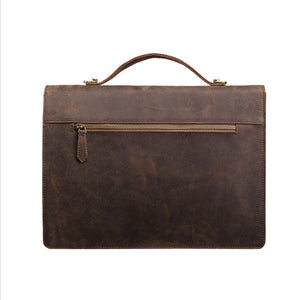 Laredo Leather Briefcase - Iguana