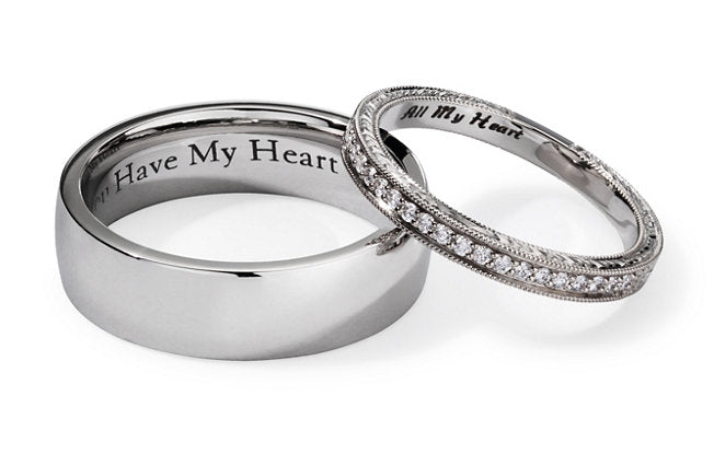 Engraving Ideas For 15 Wedding Rings