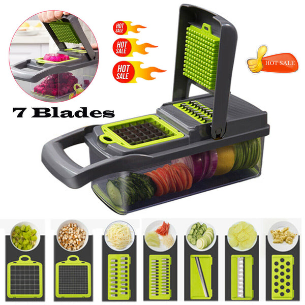 New 7 in 1 Multifunctional Vegetable Cutter