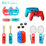 14 in 1 Accessories For Nintend Switch Controller