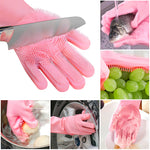 Multifunctional Kitchen Waterproof Non-slip Cleaning Gloves