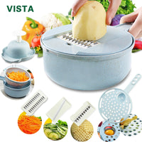 Multipurpose 8 In 1 Kitchen Vegetable Cutting Machine