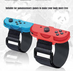 2 Pairs Adjustable Wrist Strap Nintendo Switch Just Dance Joy-Con Controller