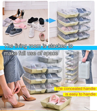Storage Box Transparent And Stackable Shoe Box