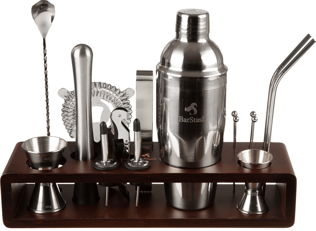 Mixology Bartender Kit - 17 Piece Bar Tool Set