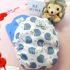 Love You More - OPTION 2- Seasonally Inspired Pocket Diaper, Coordinating Solid Diaper and 4 natural Fiber Inserts - Past Subscription Jan '21 - SOLD OUT - Bungies Diapers