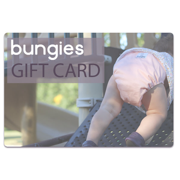 Bungies Gift Card - Bungies Diapers
