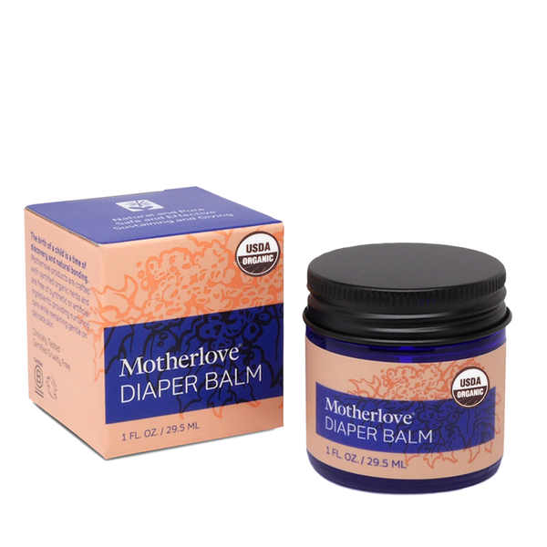 Motherlove Diaper Balm - Cloth Diaper Safe Diaper Balm