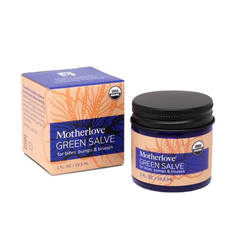 Motherlove Green Salve for Bumps, Bites and Bruises