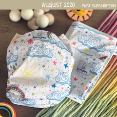 Night Shade - Seasonally Inspired Pocket Diaper, 2 Natural Fiber Inserts and Coordinating Wetbag - option 1 - OCTOBER - Bungies Diapers