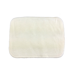 6 Pack of 2 Layer Organic Bamboo Cloth Wipes - Bungies Diapers